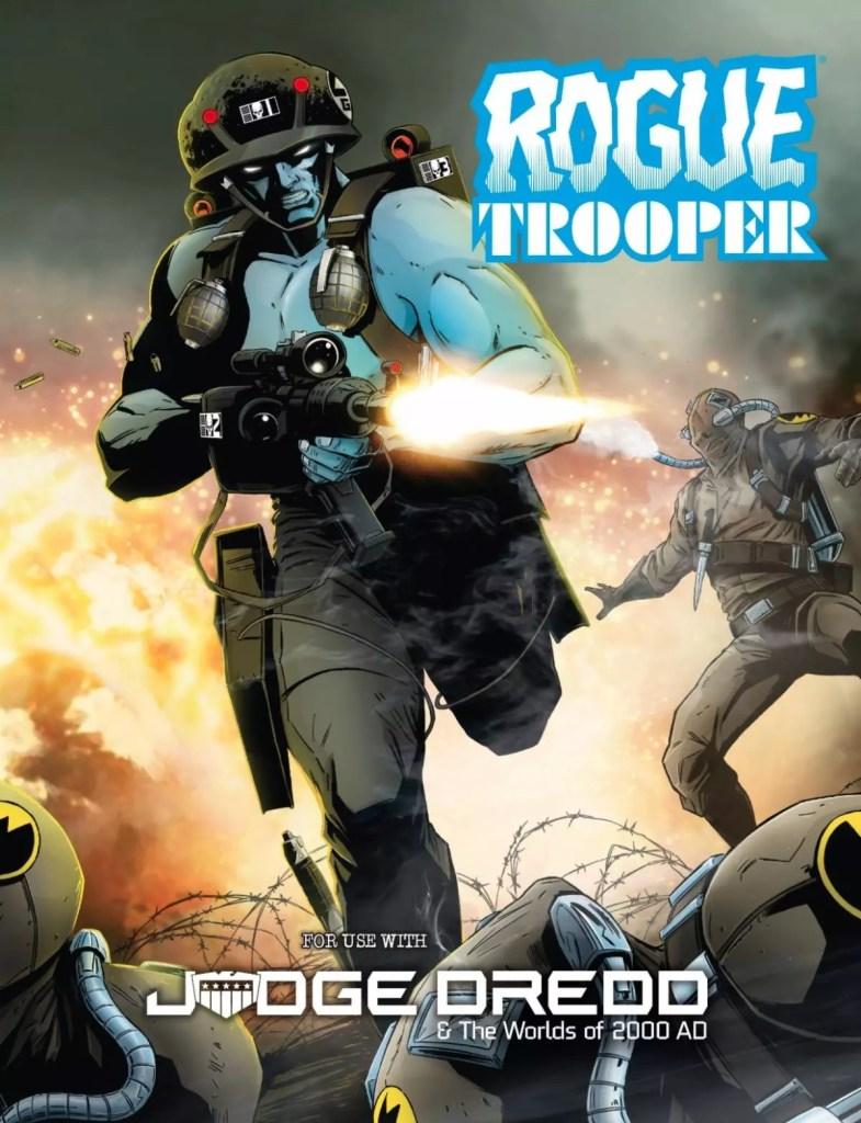 Strontium Dog e Rogue Trooper due nuove espansioni per Judge Dredd & the Worlds of 2000 AD RPG Giochi di Ruolo News GdR