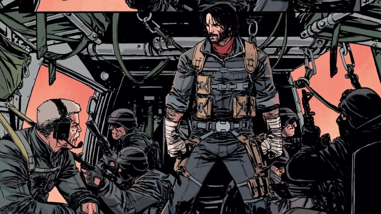BRZRKR il fumetto di Keanu Reeves