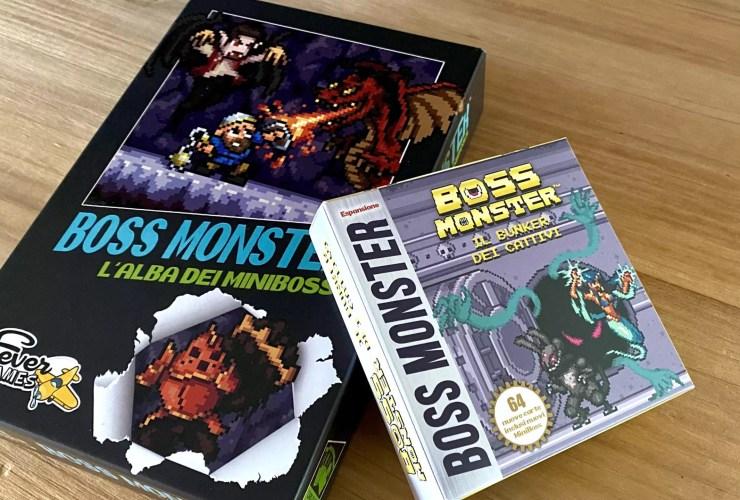 boss monster unboxing