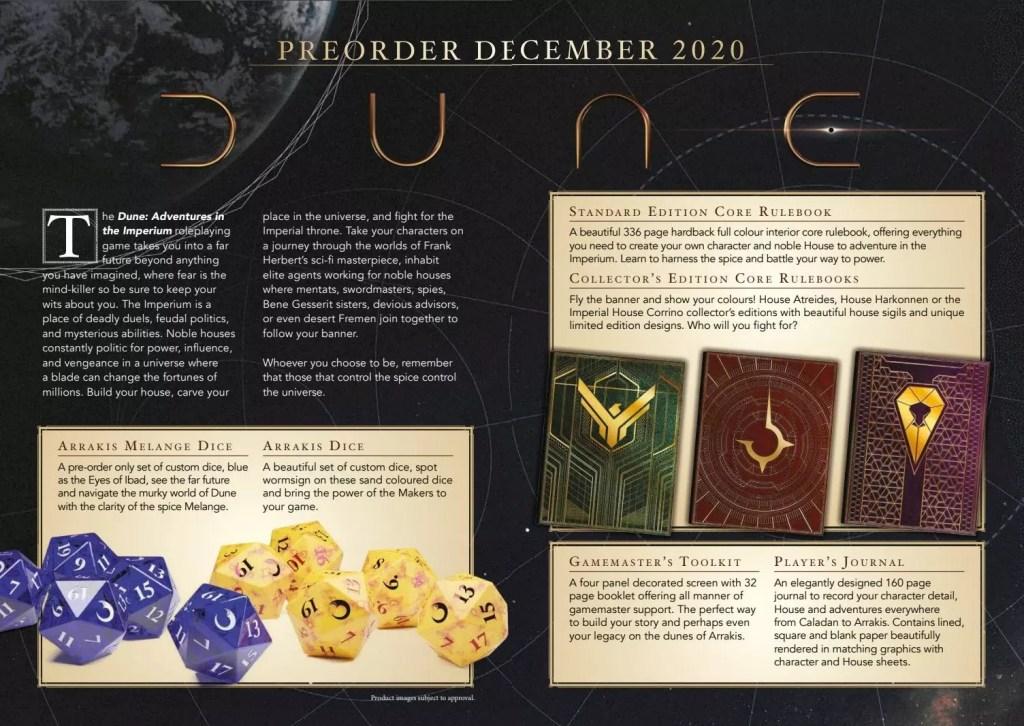 Il regolamento di base del GdR Dune è ora disponibile in PDF! Giochi di Ruolo News GdR