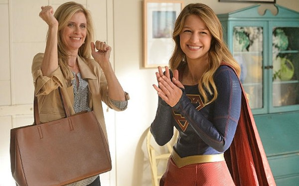 Original Supergirl Helen Slater and Melissa Benoist