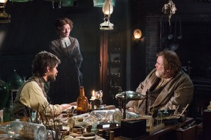 Ben Whishaw,  Michelle Fairley and Brendan Gleeson recreate Melville's Moby Dick interview