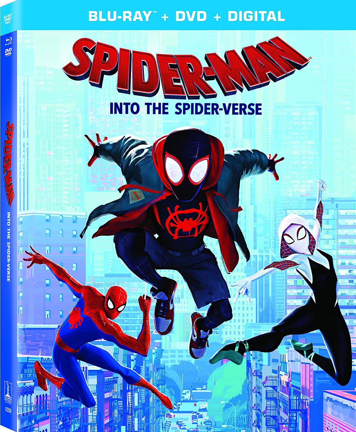 e8682f9afe7ba4 Spider-Man  Into the Spider-Verse  DVD and Blu-Ray Release Date ...