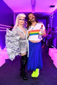 NEW YORK, NEW YORK - JUNE 27: Jonathan Van Ness and Smirnoff celebrate the LGBTQIA+ community and ongoing fight for equality with House of Pride pop-up on June 27, 2019 in New York City. (Photo by Dave Kotinsky/Getty Images for Smirnoff)