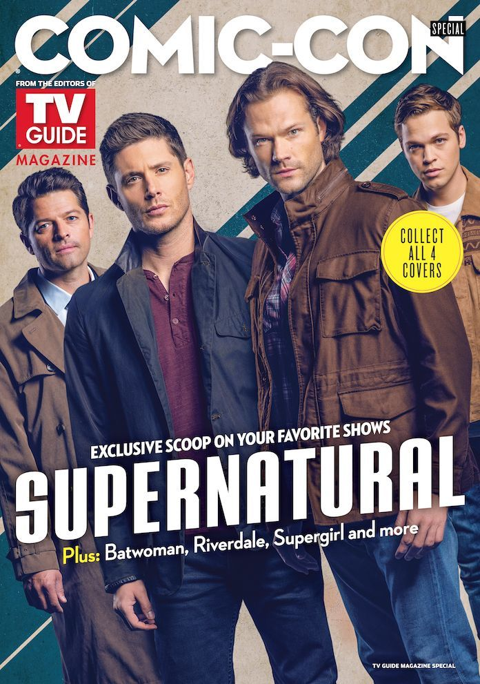 TV Guide Magazine Launches Collectible 'Supernatural' Cover