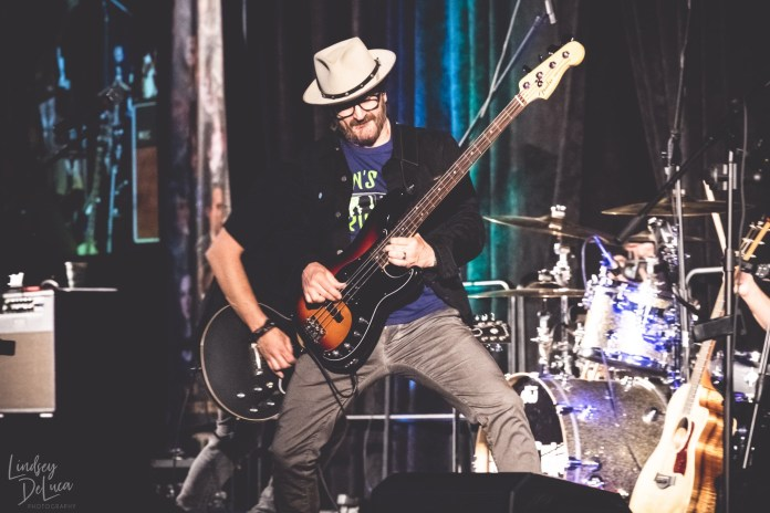 Richard Speight, Jr. playing guitar at a Creation Entertainment Supernatural Con