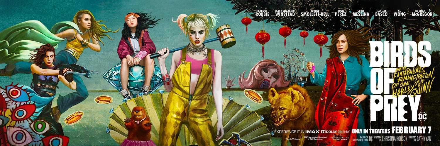 Birds Of Prey And The Fantabulous Emancipation Of One Harley Quinn Posters Released Nerds And Beyond