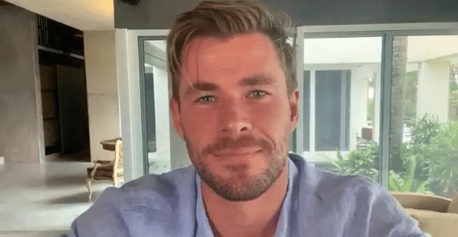 जीतने के अवसर को पूरा करने के लिए क्रिस Hemsworth और में भाग लेने के'Thor ...