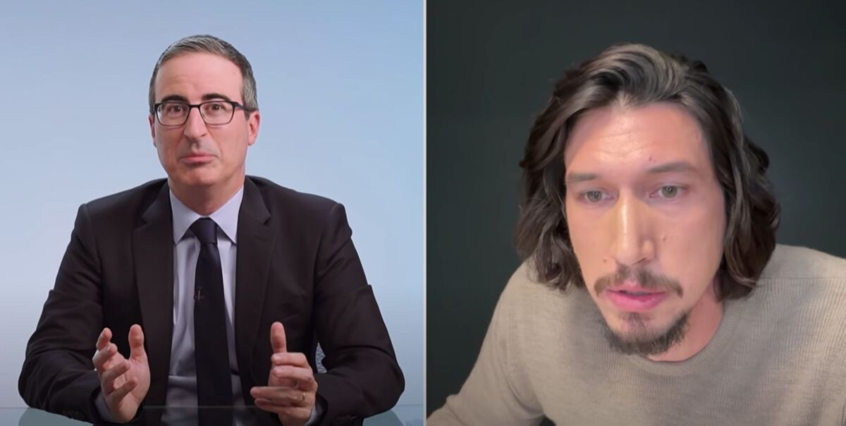 John Oliver recaps 2020 and blows it up