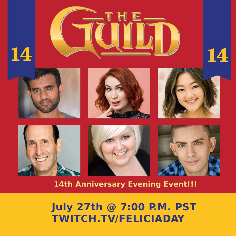 The Guild Anniversary Event Poster