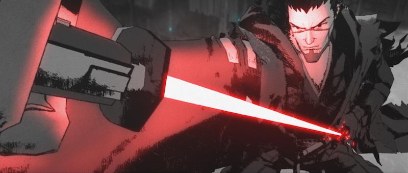 Still of Ronin in Star Wars: Visions