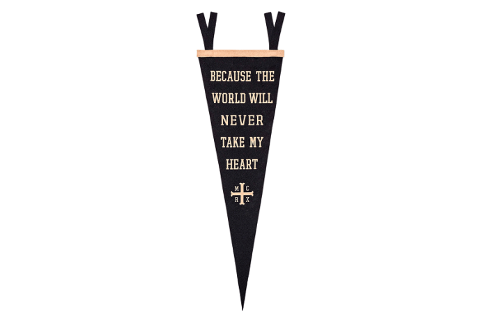 Pennant from My Chemical Romance x Oxford Pennant