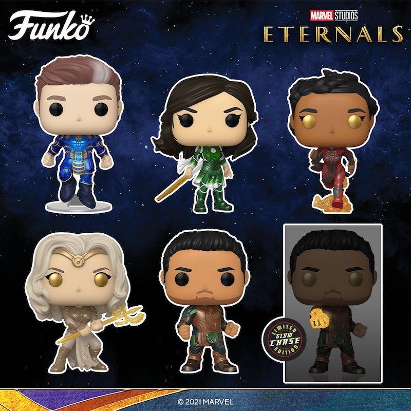 Eternals Funko Pop! figures