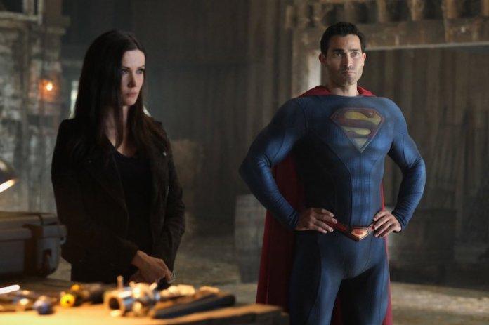 Bitsie Tulloch and Tyler Hoechlin as Lois Lane and Superman in Superman & Lois season finale