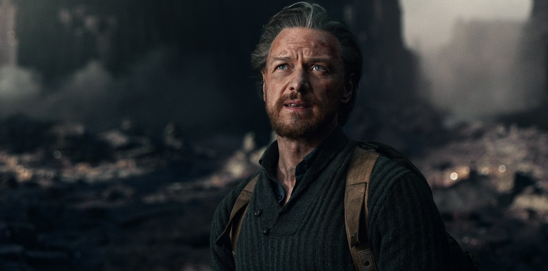 James McAvoy as Lord Asriel in His Dark Materials