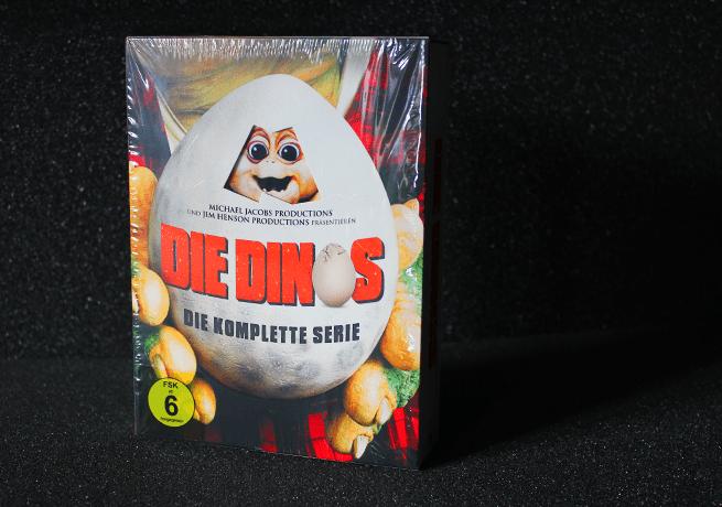 Die Dinos als komplette Serie sind nun in einer DVD Box verfügbar