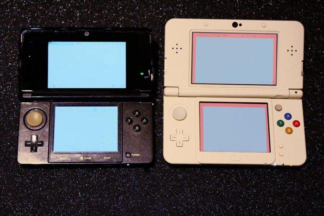Der Bildschirm des New 3DS ist größer