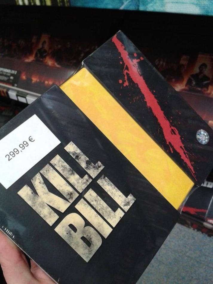 Diese Kill Bill Box hätte ich gern irgendwann in meiner Sammlung!