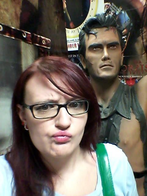 Ash aus Evil Dead wollte einfach nicht in die Kamera schauen. Schade!