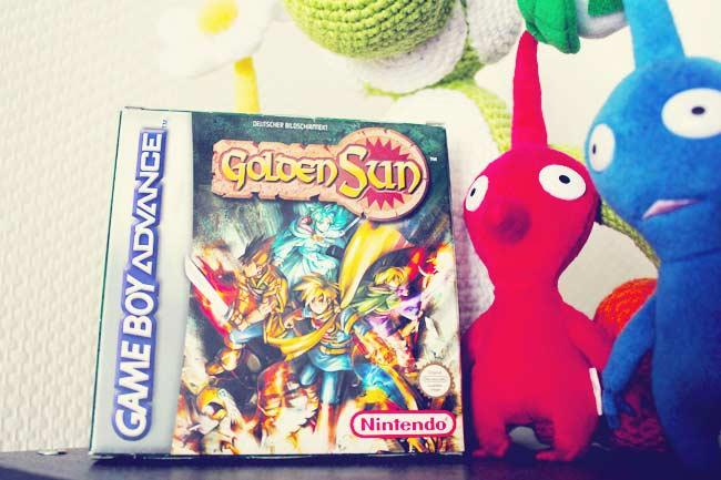 Golden Sun Game Boy Advance