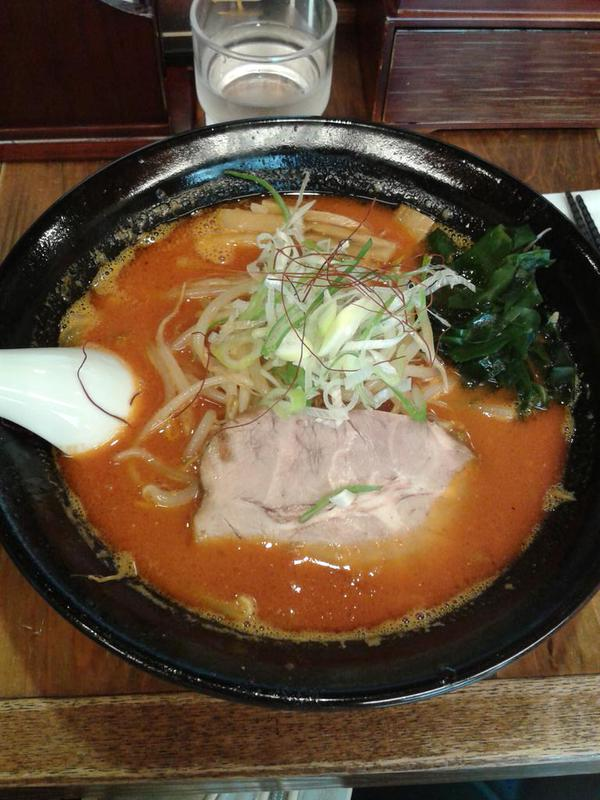 Original japanische Ramen-Suppe