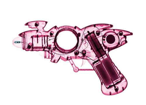 Lumas Art Now BRENDAN FITZPATRICK X-ray of a Toy Ray Gun 03