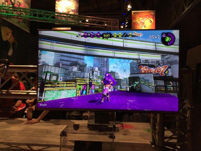 Nintendo Switch Event München Splatoon 2