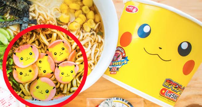 Pikachu verzaubert die Suppe – Instant-Nudeln in der UMAI Crate
