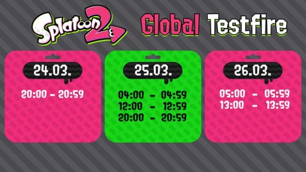 Splatoon 2 Global Testfire Demo