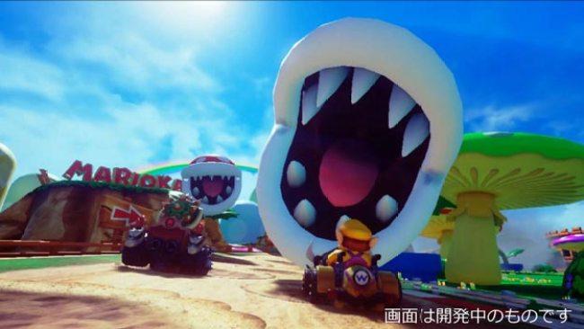 Mario Kart VR Tokyo Shinjuku Bandai Namco