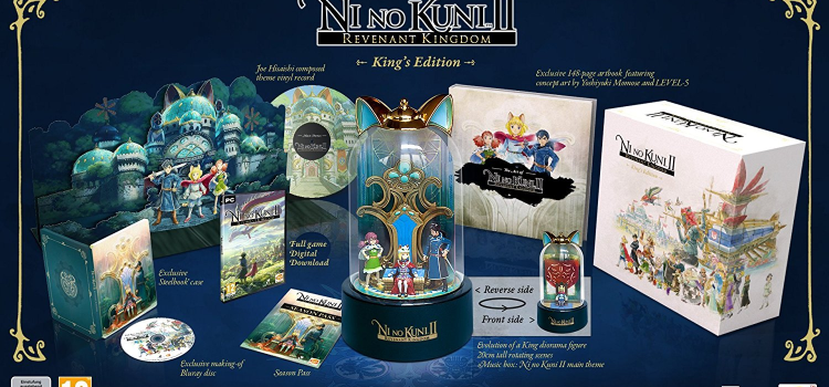 Sam packt aus: Ni No Kuni 2: Revenant Kingdom King's Edition [PC]