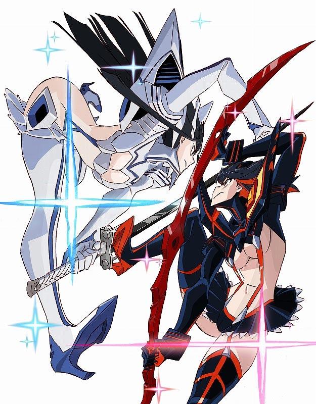 Charaktervorstellung von Ryuko und Satsuki aus KILL la KILL - IF veröffentlicht
