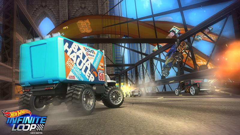 Hot Wheels Infinite Loop Gamescom 2019 Preview