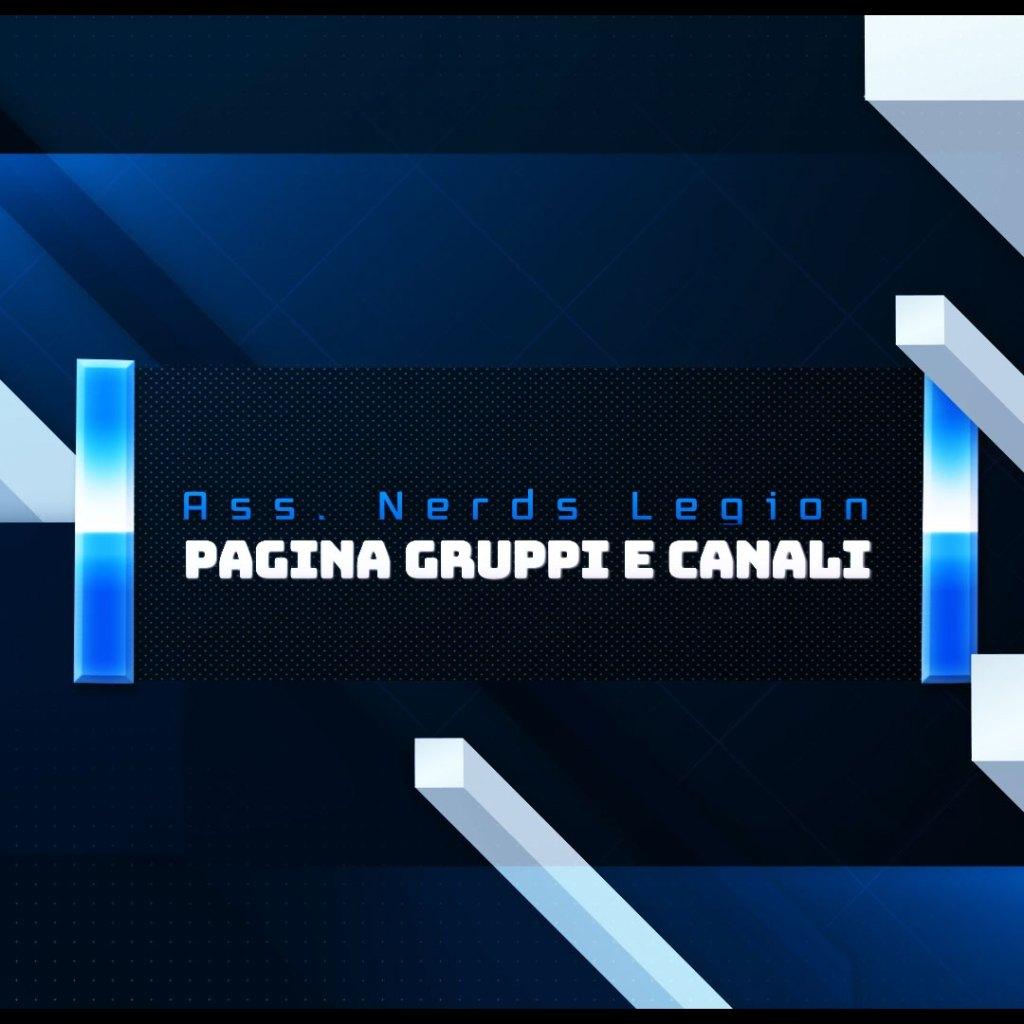 """Arrivate le sezioni """"Gruppi e Canali"""" e """" Progetti in corso"""""""
