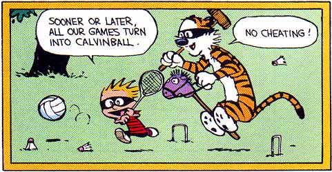 The Recession of 2008 is Calvinball