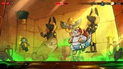 Wonder Boy: The Dragon's Trap boss dragon mummy