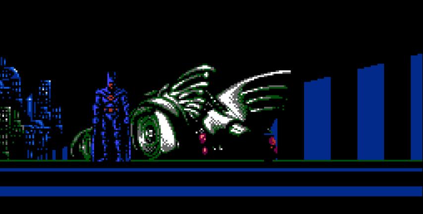 Batman NES 1989 Batmobile