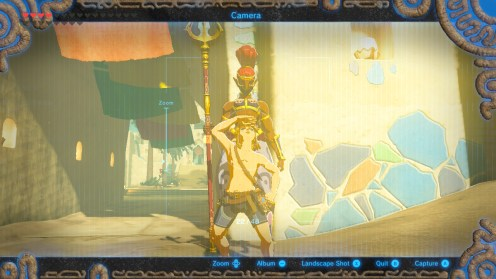 Legend of Zelda: Breath of the Wild selfie 3