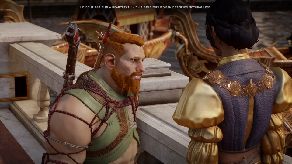 Dragon Age Inquisition Dwarf Inquisitor