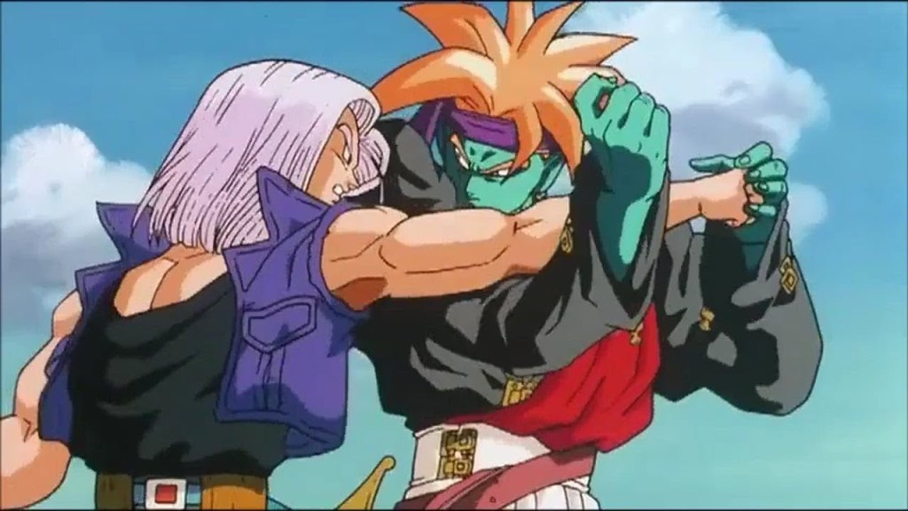 trunks versus gokua