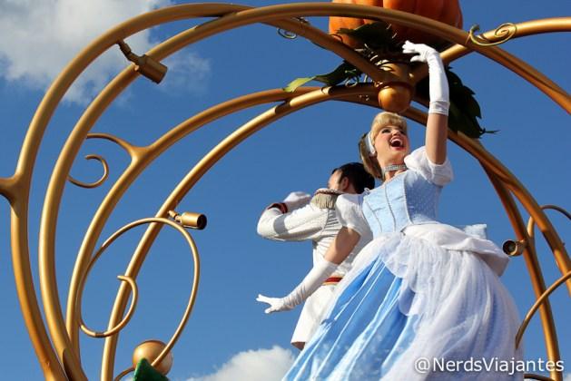 Cinderela - Magic Kingdom - Disney - Orlando