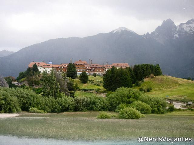 Hotel Llao Llao visto do Lago Nahuel Huapi - Bariloche - Argentina