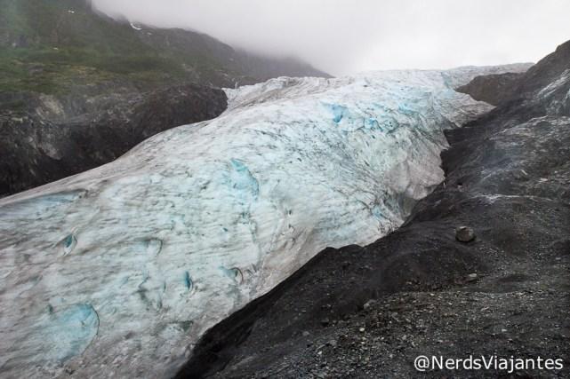 Exit Glacier no Kenai Fjords National Park - Alasca