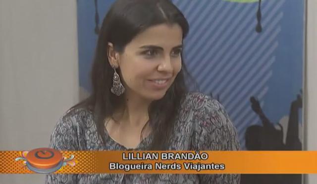 Nerd falando sobre Argentina no Programa Caleidoscópio da TV Horizonte