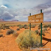 Forrest Gump no Monument Valley - Estados Unidos