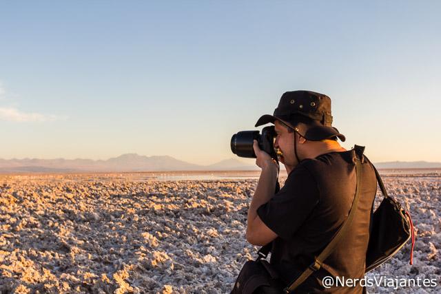 Fotografando o Salar do Atacama - Atacama - Chile