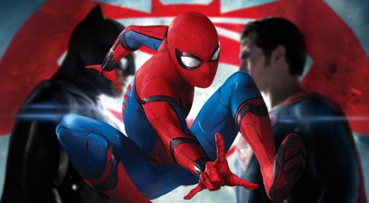 """HOMEM ARANHA: DE VOLTA AO LAR   Longa da Marvel ultrapassa """"Batman vs Superman"""" nas bilheterias americanas"""