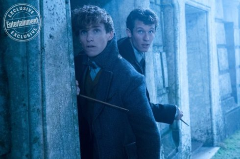 Fantastic Beasts: The Crimes of Grindelwald Eddie Redmayne and Callum Turner