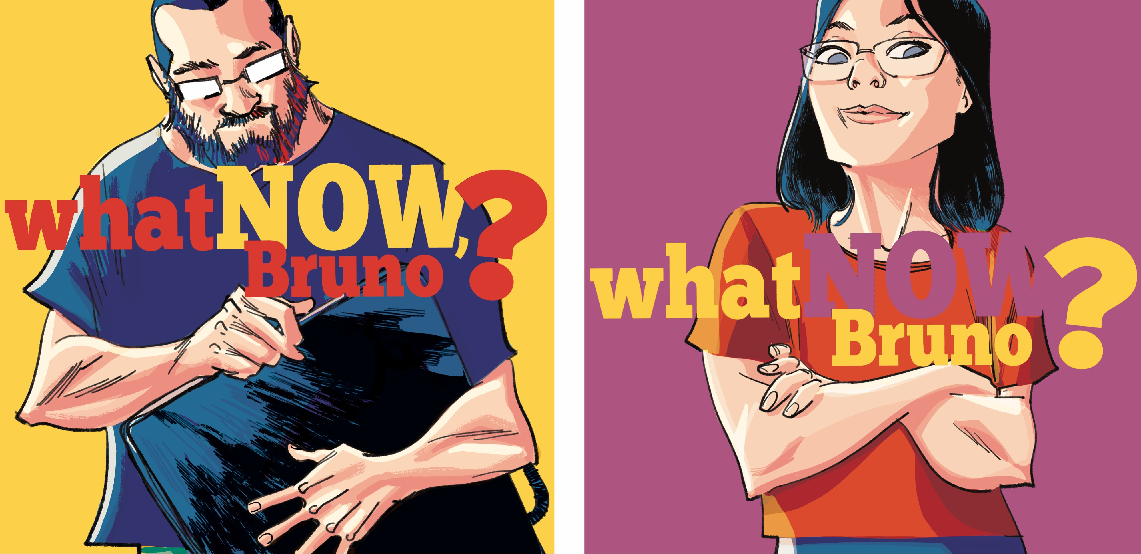 WHAT NOW BRUNO? | Desenhista da Marvel lança HQ autobiográfica