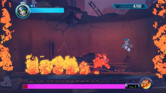mighty no 9 boss battle